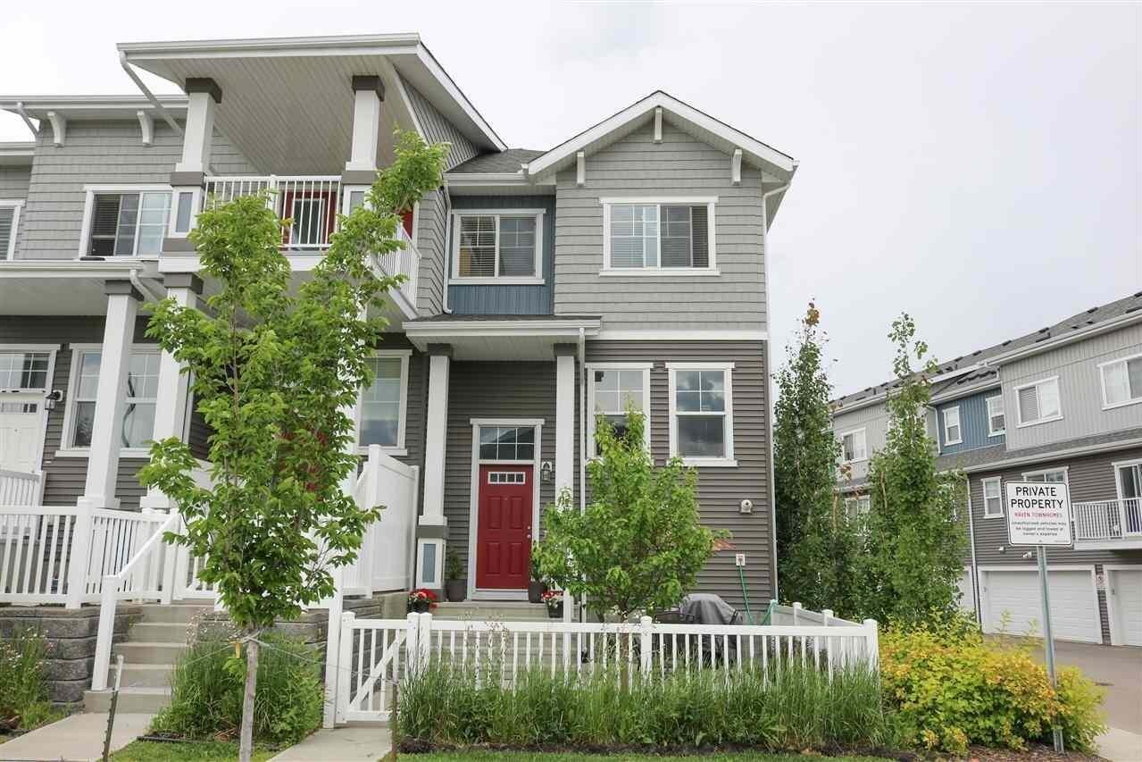 Townhouse for sale at 7385 Edgemont Wy NW Unit 1 Edmonton Alberta - MLS: E4205290
