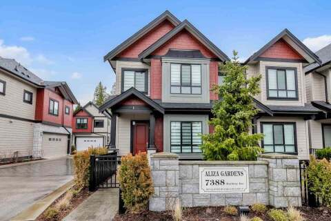 Townhouse for sale at 7388 Railway Ave Unit 1 Richmond British Columbia - MLS: R2474519