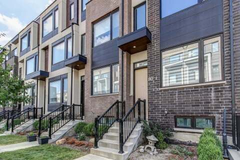 Townhouse for sale at 80 Thomas Mulholland Dr Unit 1 Toronto Ontario - MLS: W4886034
