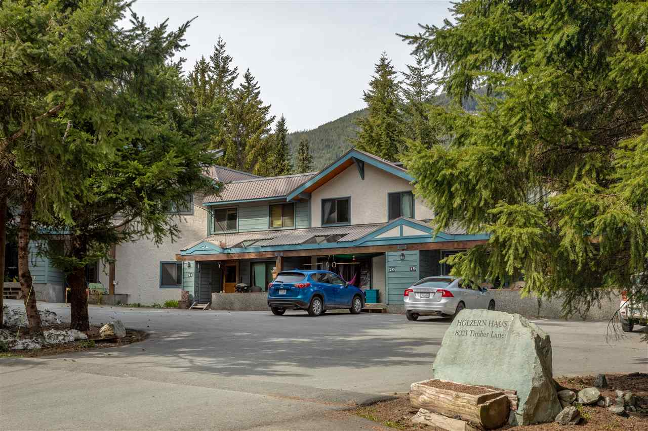 For Sale: 1 - 8003 Timber Lane, Whistler, BC | 3 Bed, 1 Bath Townhouse for $699,000. See 12 photos!
