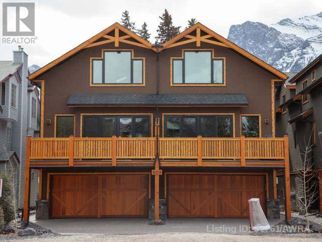 Townhouse for sale at 806 6th St Unit 1 Canmore Alberta - MLS: 51761