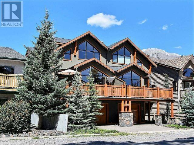 Townhouse for sale at 826 5th St Unit 1 Canmore Alberta - MLS: 50489