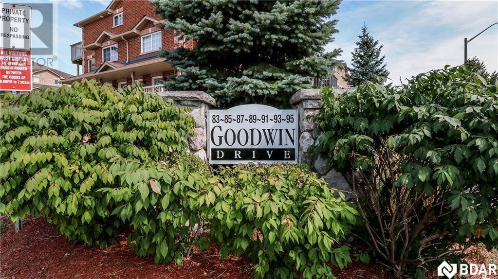 Condo for sale at 85 Goodwin Drive Dr Unit 1 Barrie Ontario - MLS: 30759890