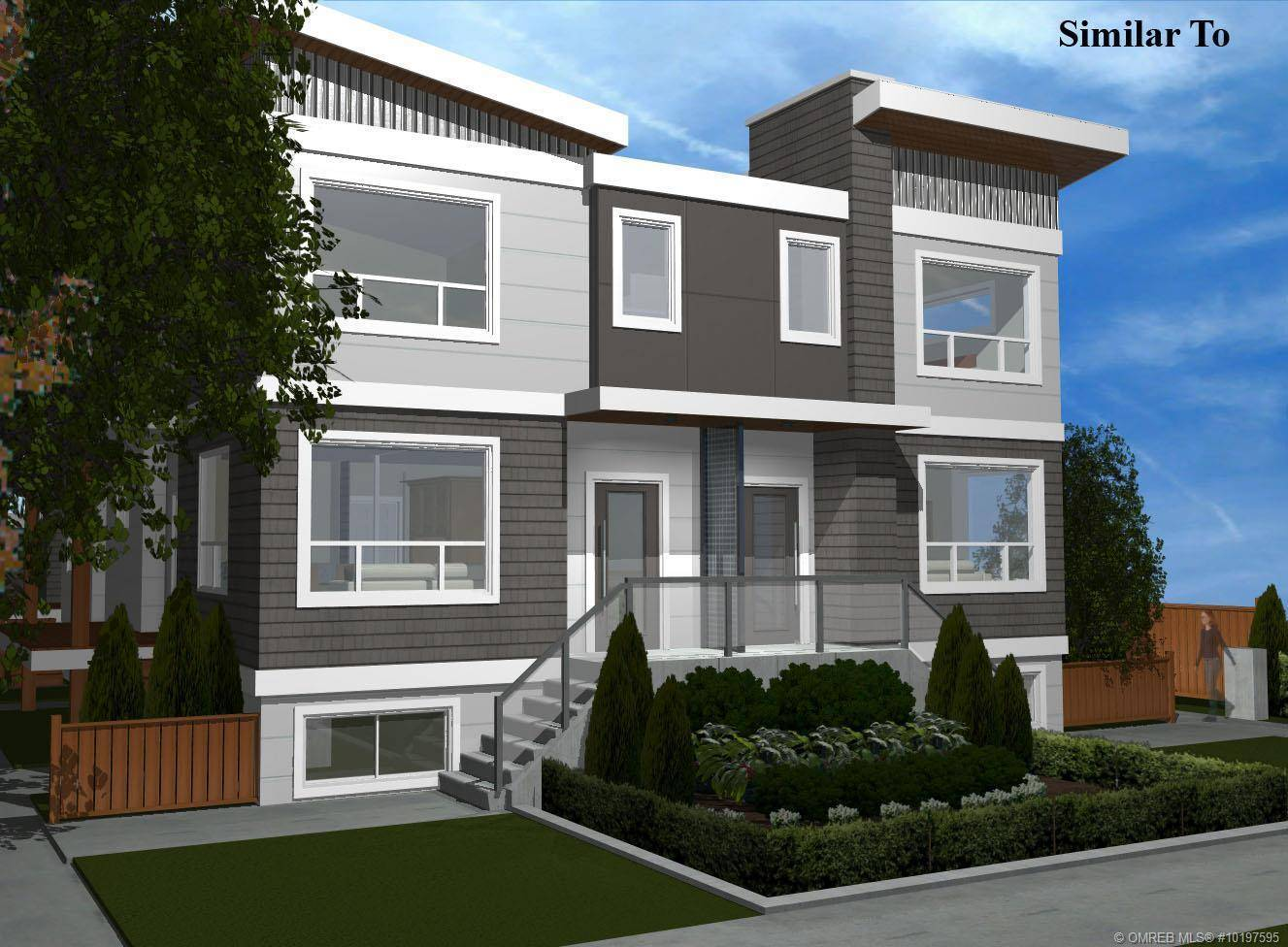 Townhouse for sale at 861 Rose Ave Unit 1 Kelowna British Columbia - MLS: 10197595