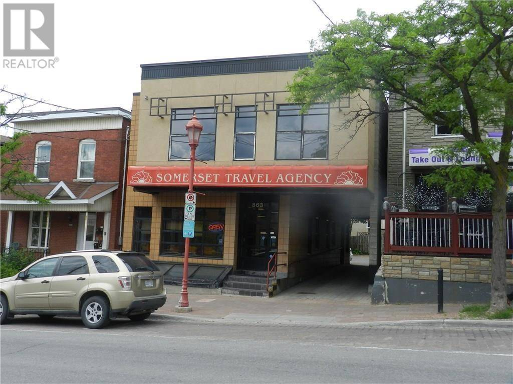 Commercial property for lease at 863 Somerset St W Apartment 1 Ottawa Ontario - MLS: 1179454