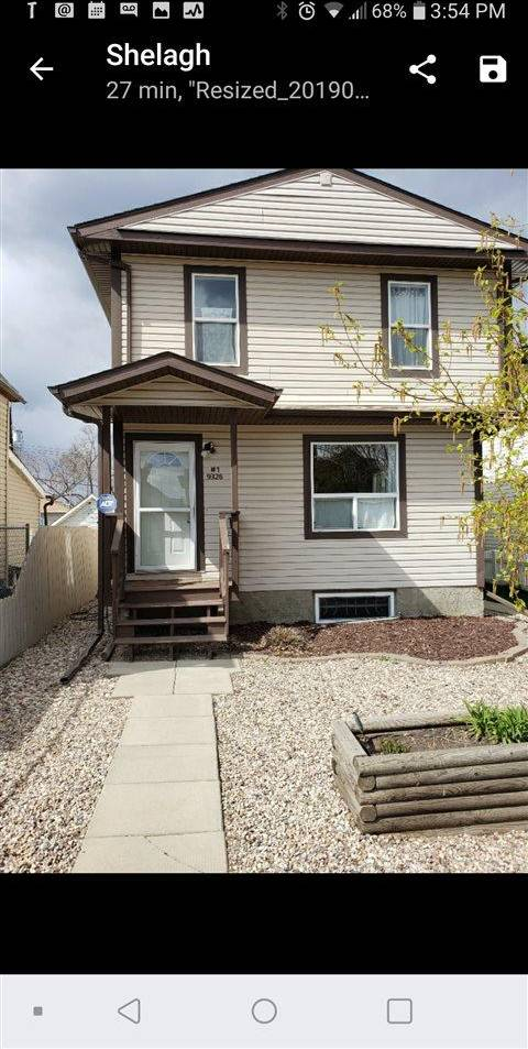 House for sale at 9326 106a Ave Nw Unit 1 Edmonton Alberta - MLS: E4156727
