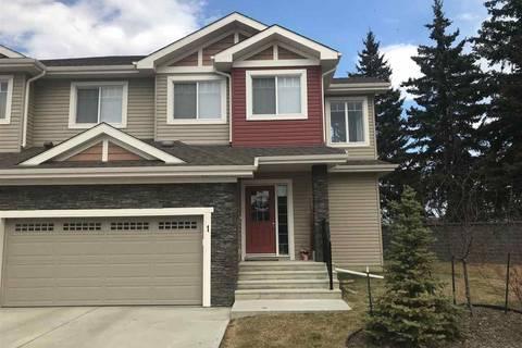 Townhouse for sale at 94 Longview Dr Unit 1 Spruce Grove Alberta - MLS: E4153316