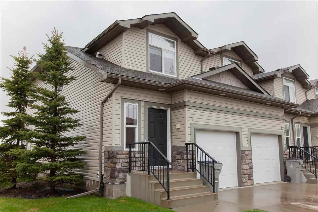 Townhouse for sale at 9511 102 Av Unit 1 Morinville Alberta - MLS: E4198111