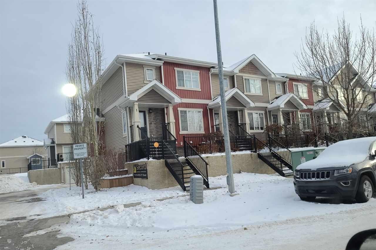 Townhouse for sale at 9535 217 St NW Unit 1 Edmonton Alberta - MLS: E4215862