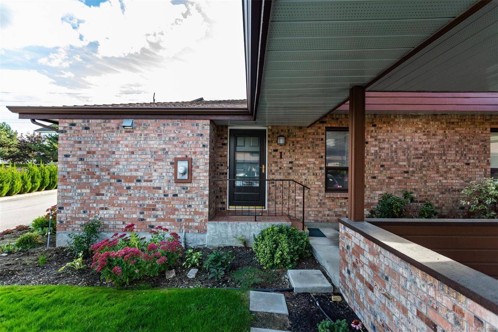 Townhouse for sale at 970 Springfield Rd Unit 1 Kelowna British Columbia - MLS: 10192060