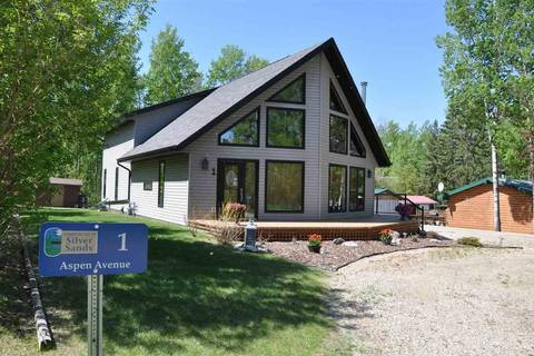 House for sale at 1 Aspen Ave Rural Lac Ste. Anne County Alberta - MLS: E4149921