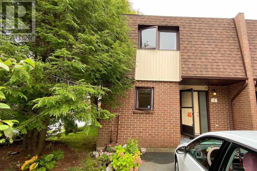 Townhouse for sale at 1 Chelsea Ln Halifax Nova Scotia - MLS: 202020269