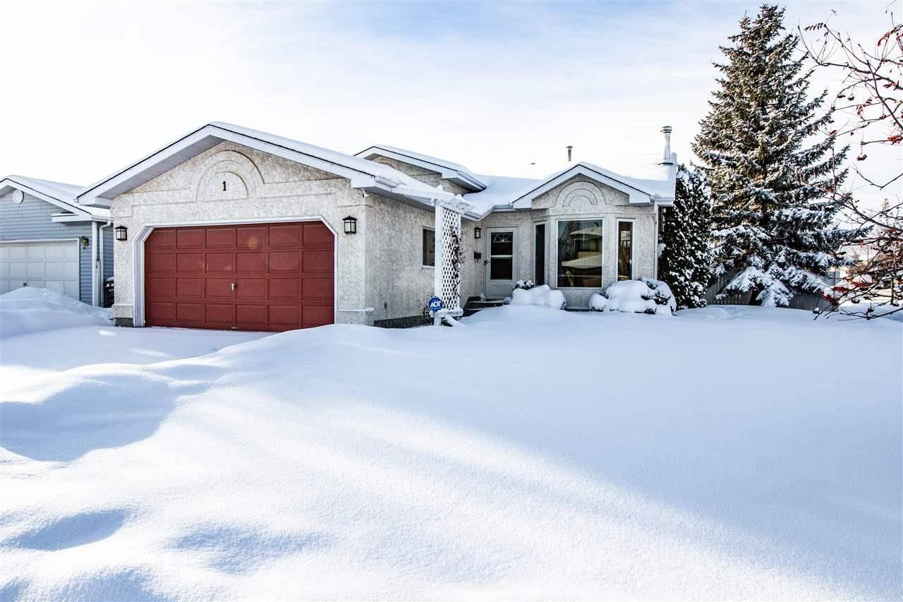 House for sale at 1 Daniel Pl St. Albert Alberta - MLS: E4185175