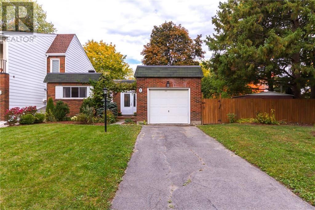Townhouse for sale at 1 Estelle Cres Ottawa Ontario - MLS: 1172489