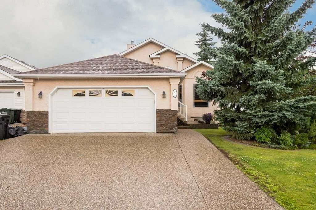 House for sale at 1 Forrest Ba Sherwood Park Alberta - MLS: E4210373