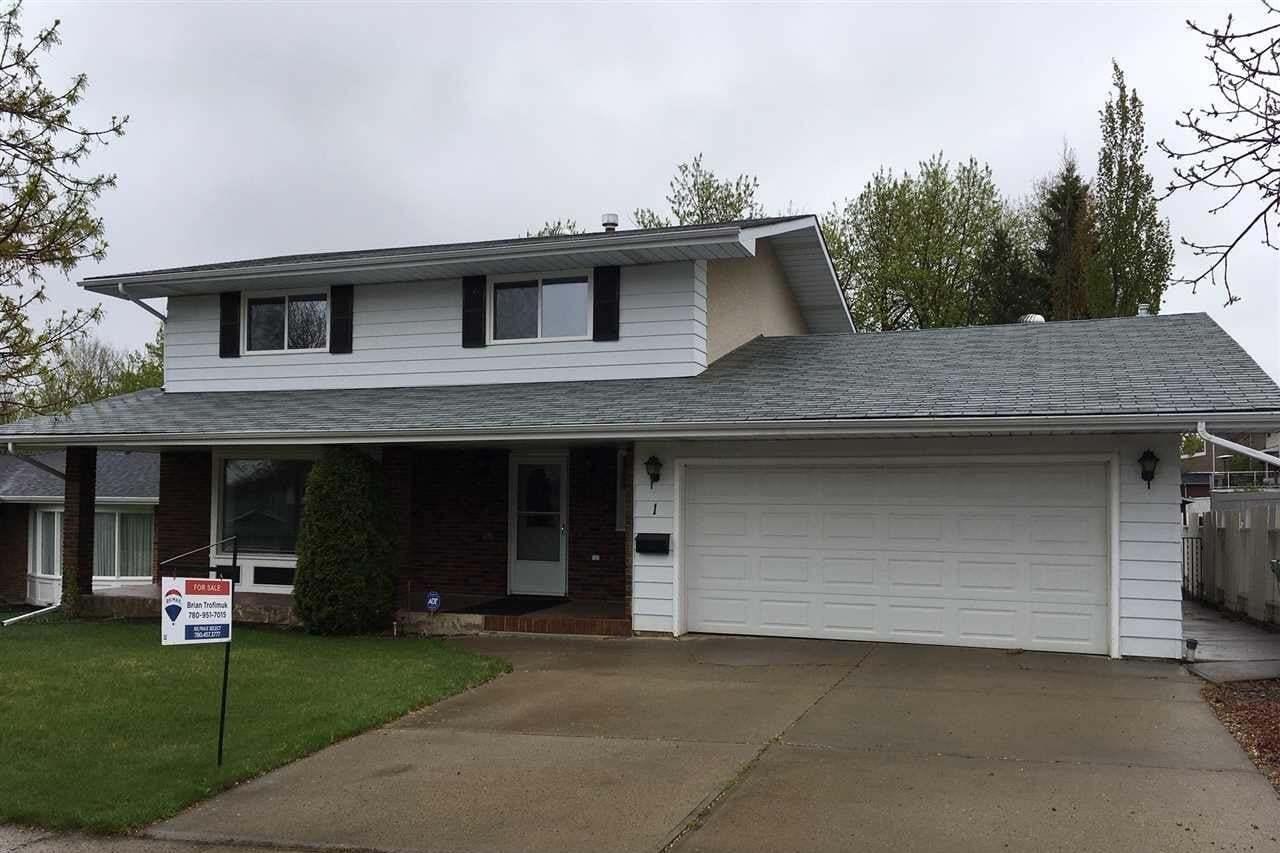 House for sale at 1 Gloucester Dr St. Albert Alberta - MLS: E4192575