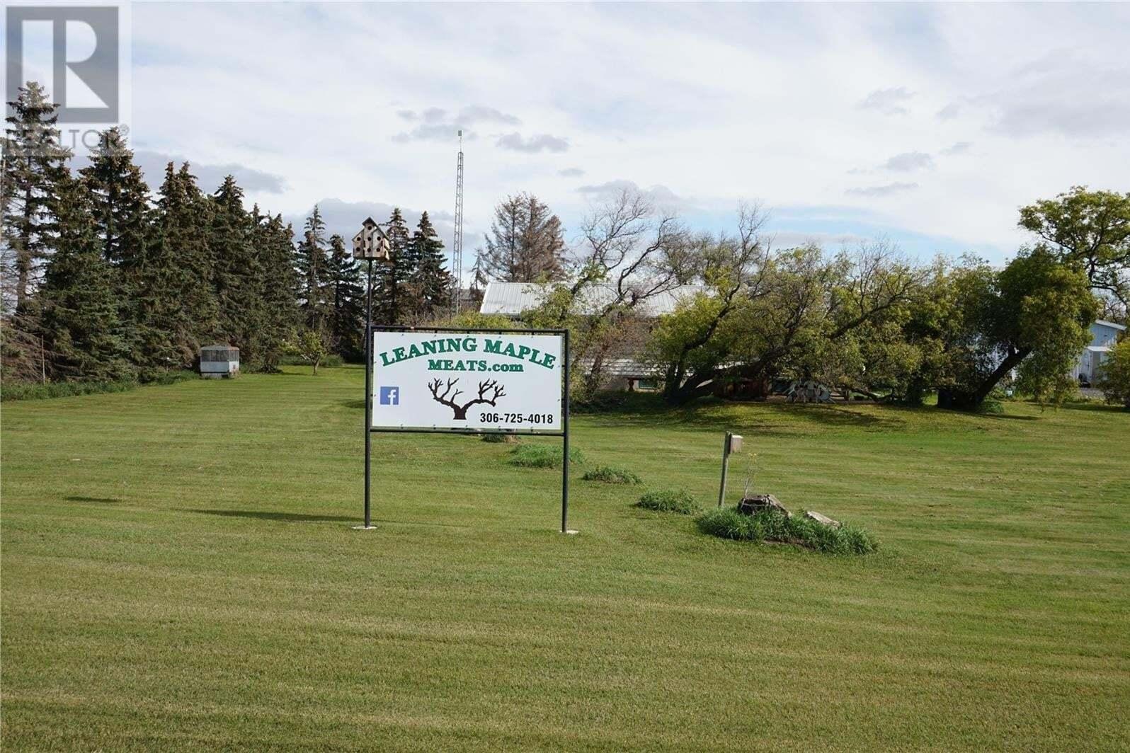 Residential property for sale at 1 Leaning Maple Rd Strasbourg Saskatchewan - MLS: SK810574