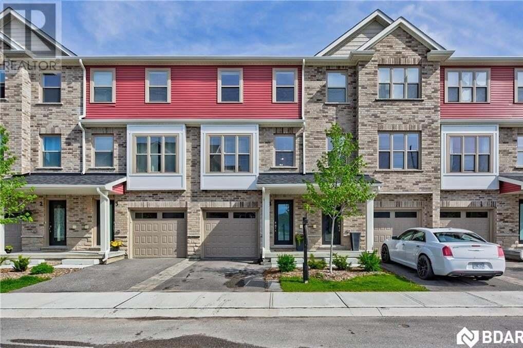 Townhouse for sale at 1 Leggott Avenue Ave Barrie Ontario - MLS: 30810364