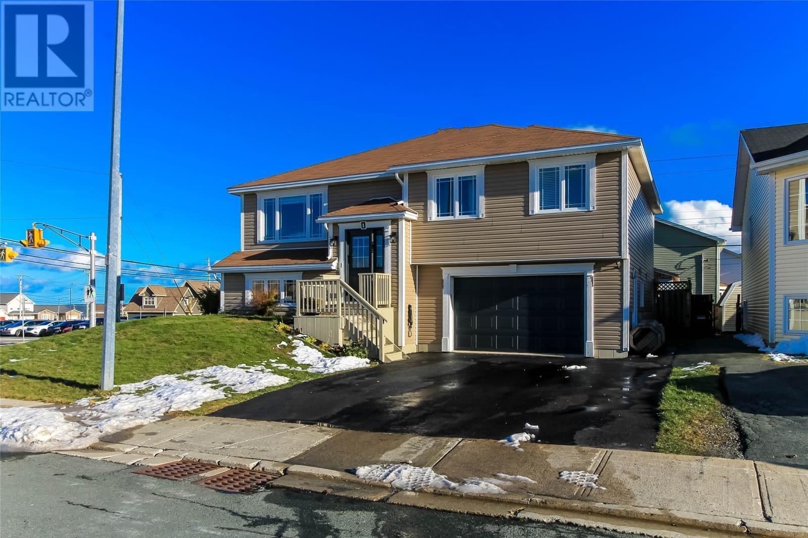 House for sale at 1 Macbeth Dr St. John's Newfoundland - MLS: 1223777