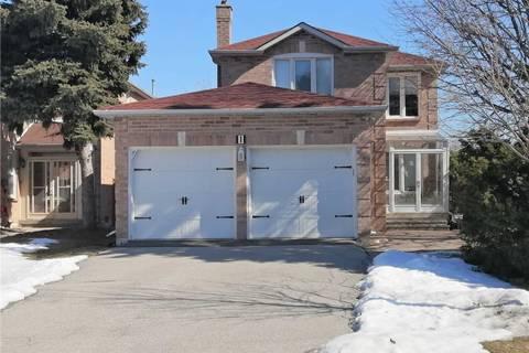 House for rent at 1 Major Elliot Ct Markham Ontario - MLS: N4711650