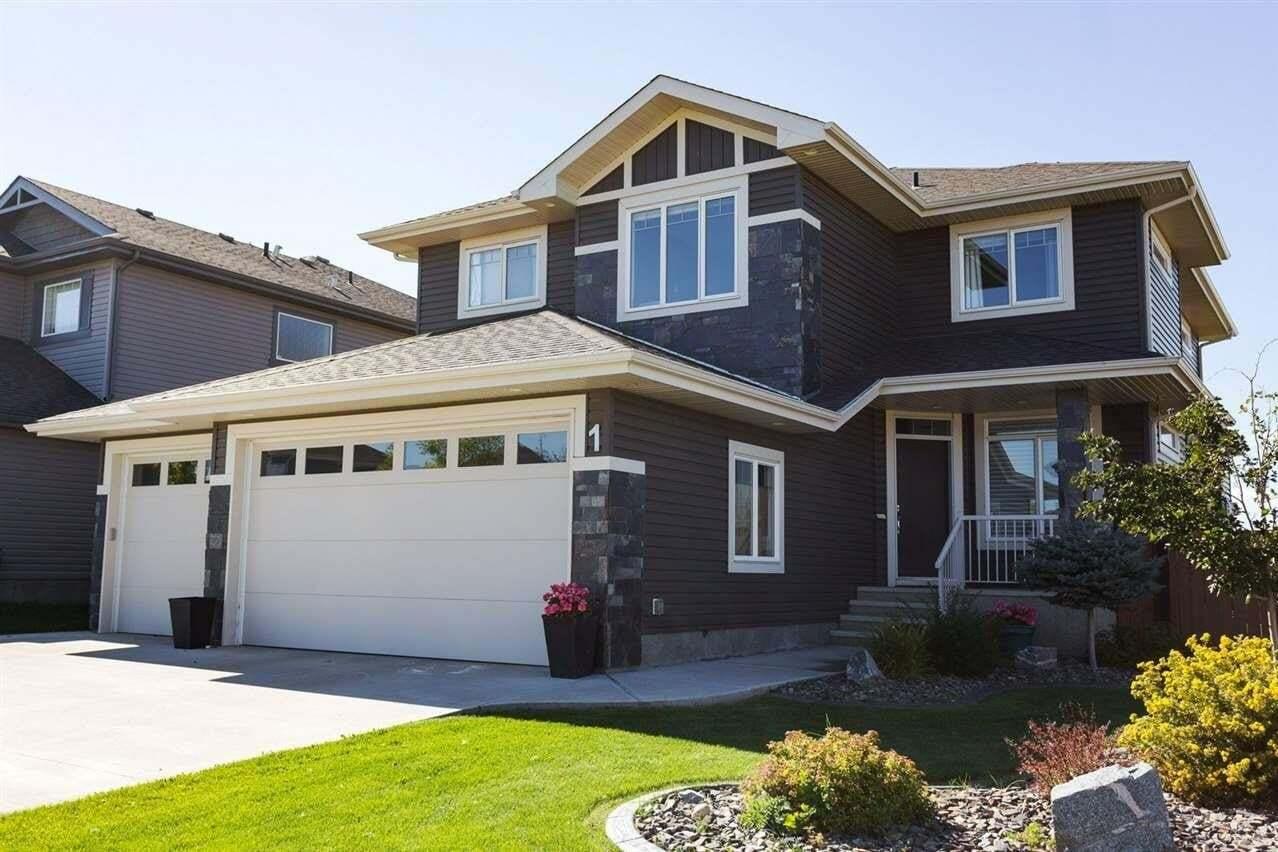 House for sale at 1 Nadia Pl St. Albert Alberta - MLS: E4213894