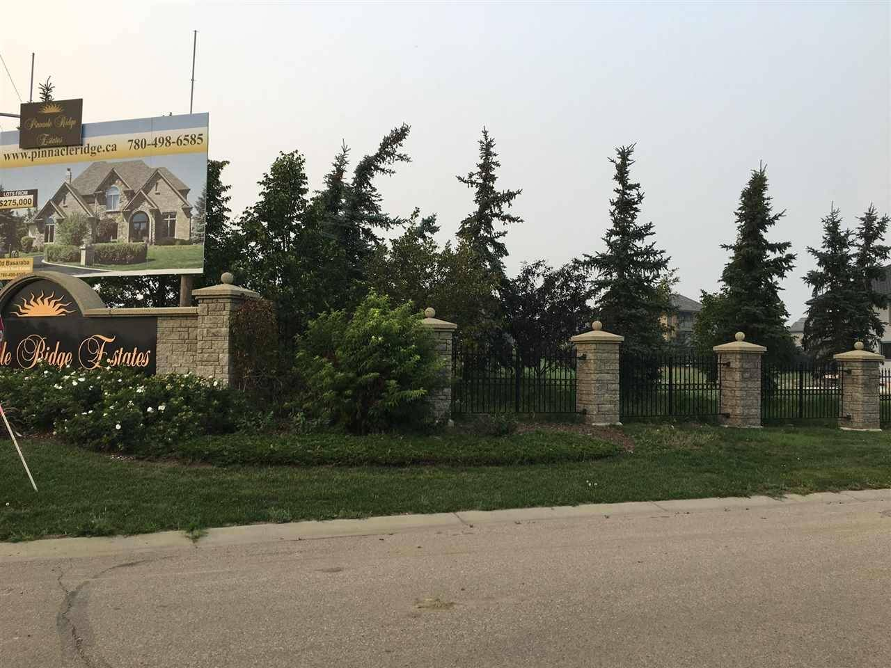 Home for sale at 1 Pinnacle Wy Rural Sturgeon County Alberta - MLS: E4168933