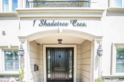 House for sale at 1 Shadetree Cres Toronto Ontario - MLS: W4809412