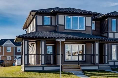 Townhouse for sale at 1 Sunrise Wy Cochrane Alberta - MLS: C4220743