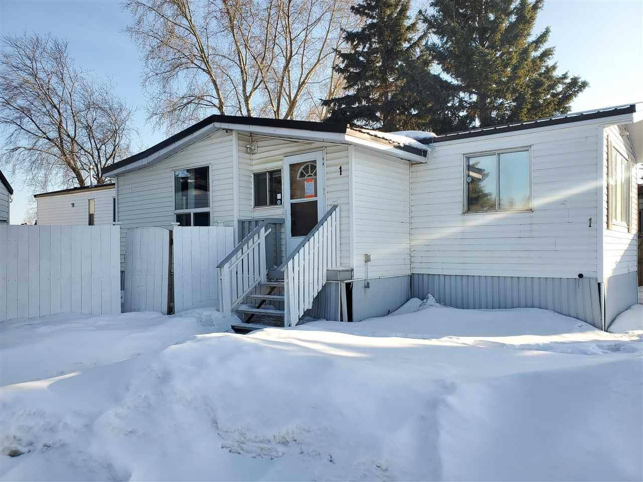 Residential property for sale at 1 West View Blvd Nw Edmonton Alberta - MLS: E4193738