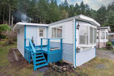 Home for sale at 12248 Sunshine Coast Hwy. Ct Unit 10 Madeira Park British Columbia - MLS: R2424580