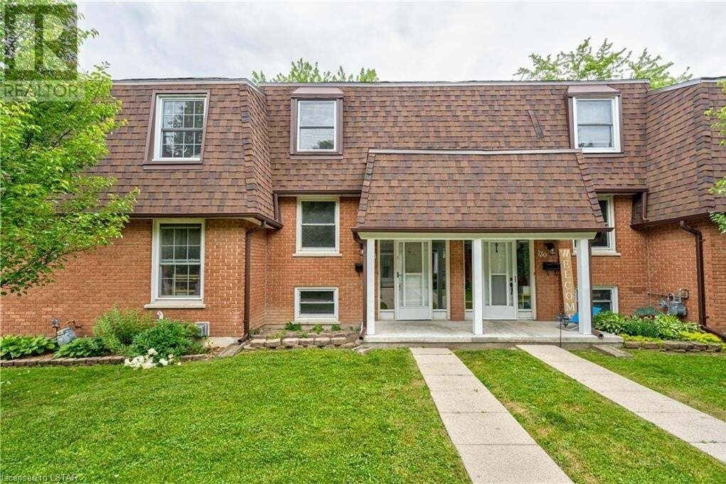 Townhouse for sale at 128 Gardenwood Dr Unit 10 London Ontario - MLS: 268182