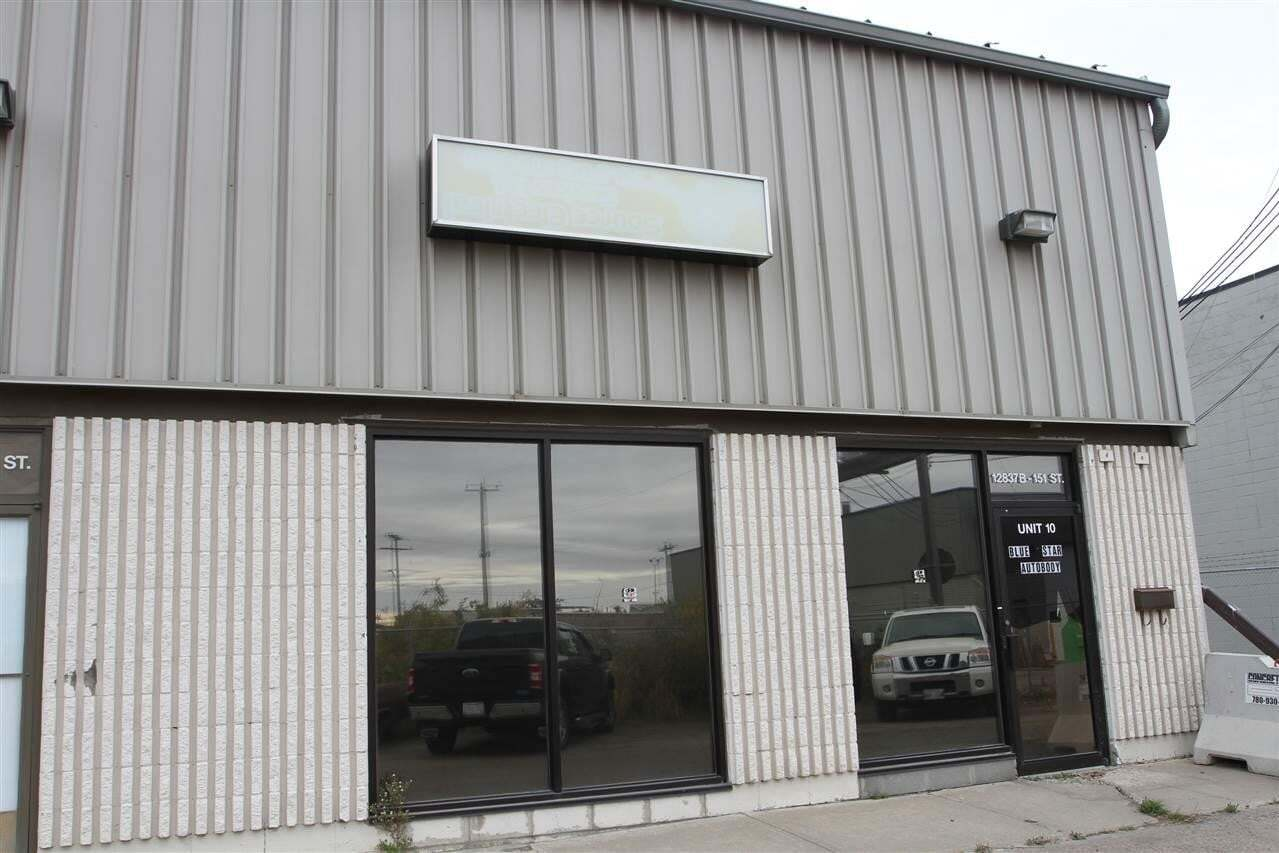 Commercial property for sale at 12831 151 St NW Unit 10 Edmonton Alberta - MLS: E4217741