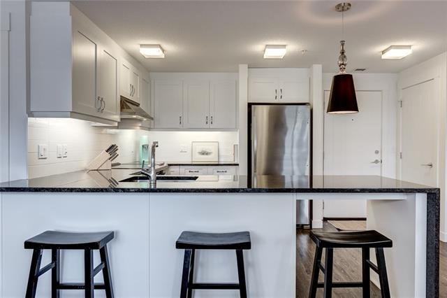 For Sale: 10 - 15 Aspenmont Heights Southwest, Calgary, AB   1 Bed, 1 Bath Condo for $285,000. See 20 photos!