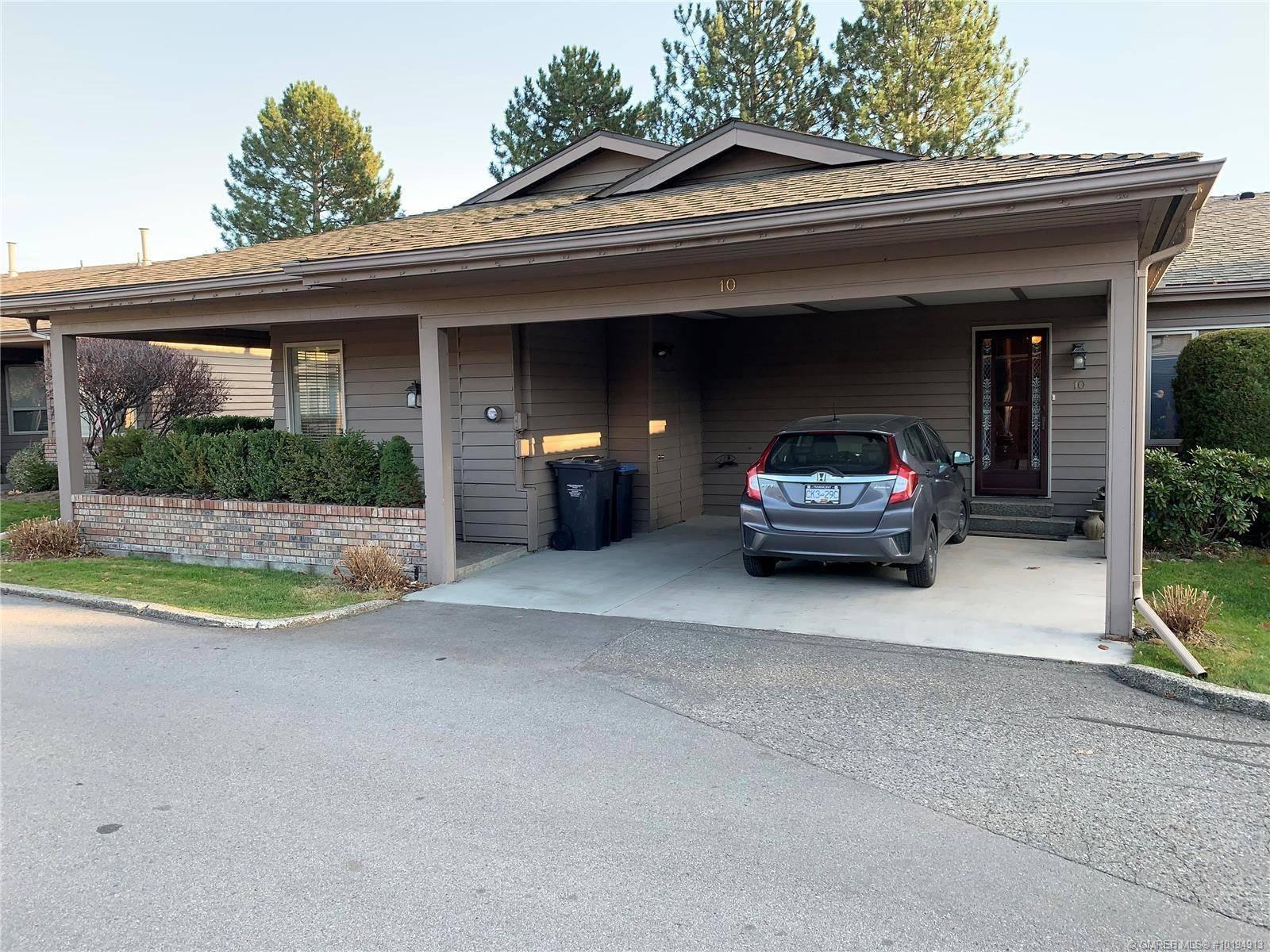 Townhouse for sale at 1530 Kelglen Cres Unit 10 Kelowna British Columbia - MLS: 10194913