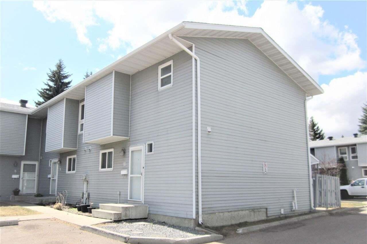 Townhouse for sale at 15710 Beaumaris Rd NW Unit 10 Edmonton Alberta - MLS: E4195935