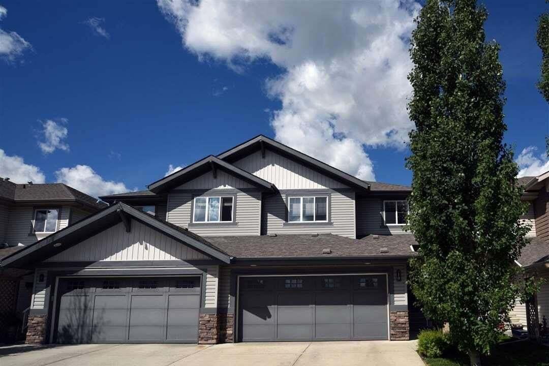 Townhouse for sale at 1901 126 St SW Unit 10 Edmonton Alberta - MLS: E4201836