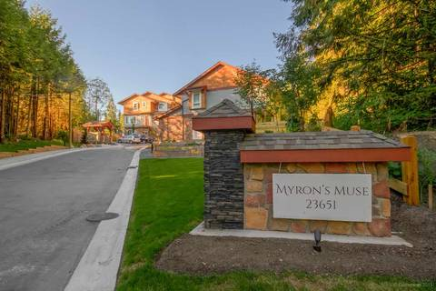 Townhouse for sale at 23651 132 Ave Unit 10 Maple Ridge British Columbia - MLS: R2344050