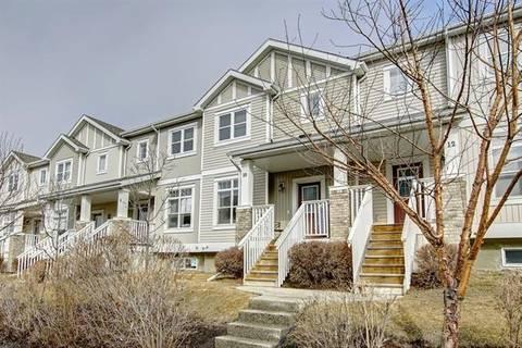 Townhouse for sale at 300 Evanscreek Ct Northwest Unit 10 Calgary Alberta - MLS: C4258281