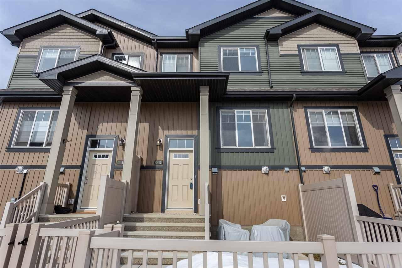 Townhouse for sale at 3305 Orchards Li Sw Unit 10 Edmonton Alberta - MLS: E4192055