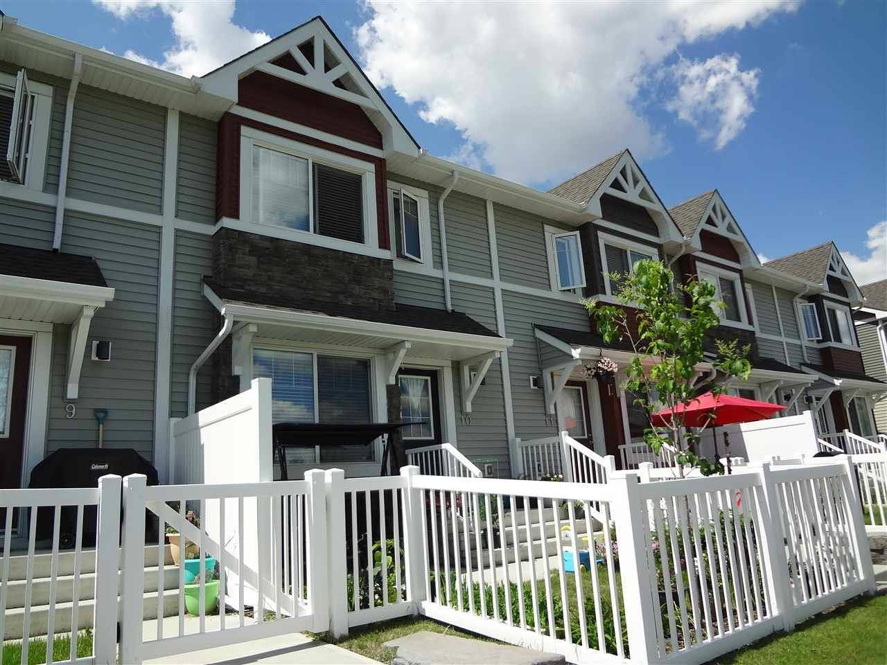Townhouse for sale at 415 Clareview Rd Nw Unit 10 Edmonton Alberta - MLS: E4162372