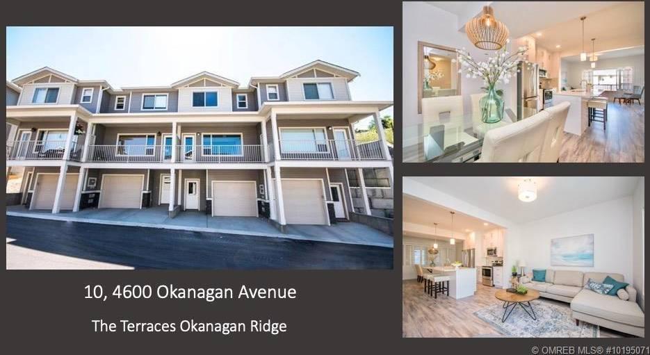 Townhouse for sale at 4600 Okanagan Ave Unit 10 Vernon British Columbia - MLS: 10195071