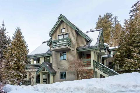 Townhouse for sale at 4645 Blackcomb Wy Unit 10 Whistler British Columbia - MLS: R2436504