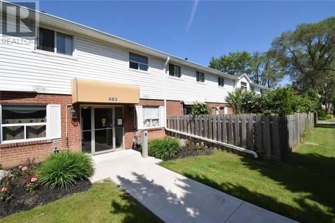Townhouse for sale at 483 Claridge Rd Unit 10 Burlington Ontario - MLS: 30739915