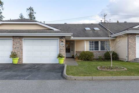 Townhouse for sale at 5051 203 St Unit 10 Langley British Columbia - MLS: R2445352