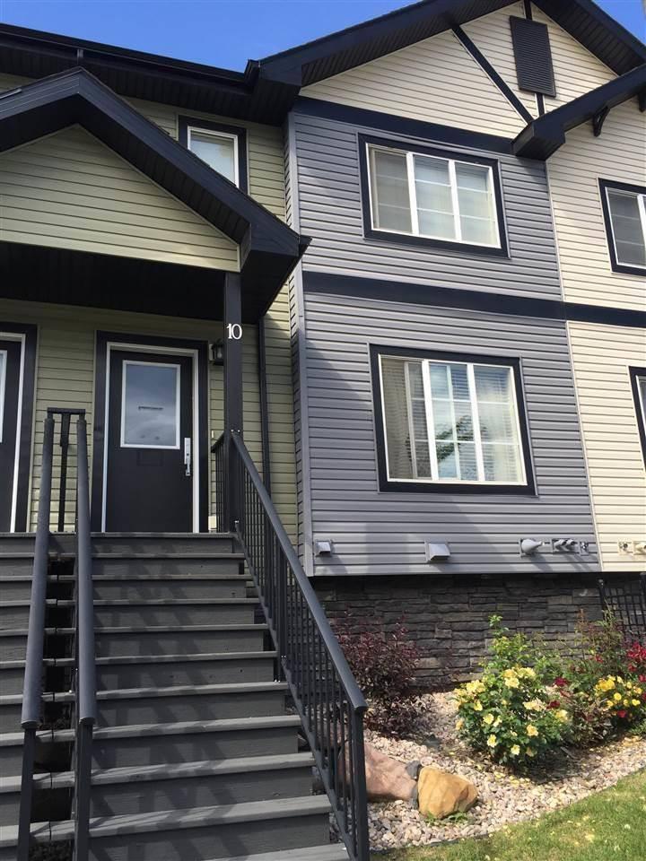 Townhouse for sale at 5260 Terwillegar Blvd Nw Unit 10 Edmonton Alberta - MLS: E4191128