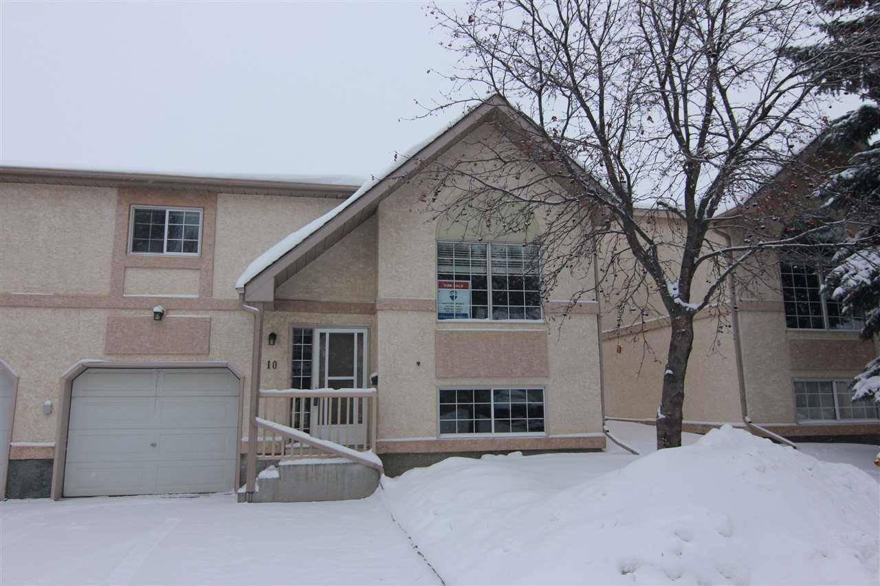 Townhouse for sale at 53 Erin Ridge Dr Unit 10 St. Albert Alberta - MLS: E4184320