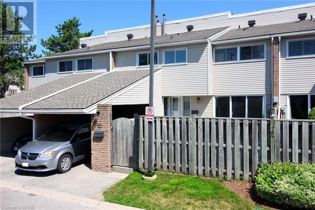 Townhouse for sale at 590 Millbank Dr Unit 10 London Ontario - MLS: 269378