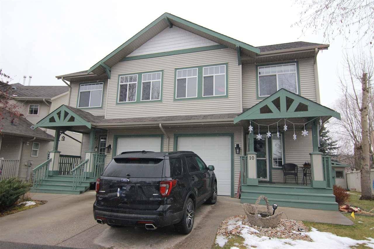 Townhouse for sale at 6 Aspenglen Dr Unit 10 Spruce Grove Alberta - MLS: E4174761
