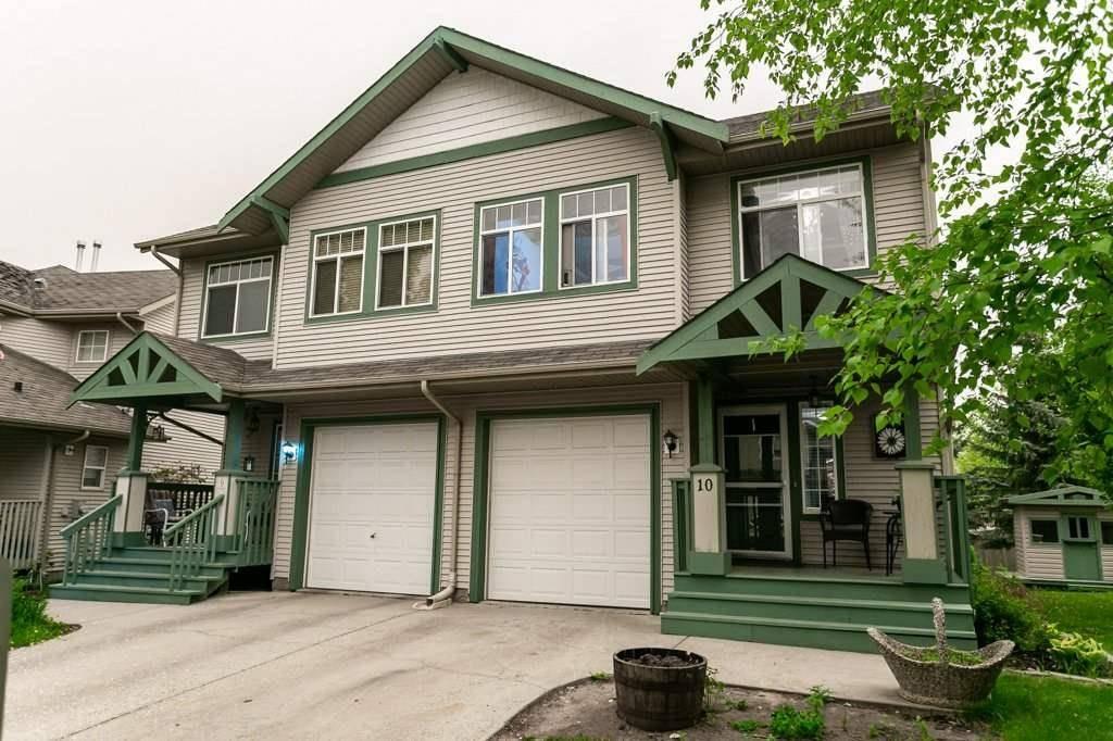 Townhouse for sale at 6 Aspenglen Dr Unit 10 Spruce Grove Alberta - MLS: E4192256