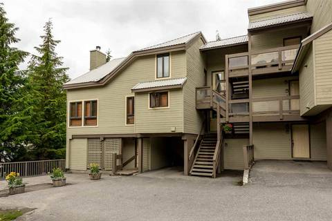 Townhouse for sale at 6125 Eagle Dr Unit 10 Whistler British Columbia - MLS: R2360987